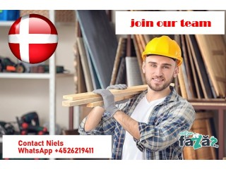 Carpenter/ All round builder needed for GOOD job with GOOD PAY in Denmark