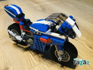 LEGO Creator 3 in 1, Race Rider, 6747, piese complete 95%, 7-12 ani