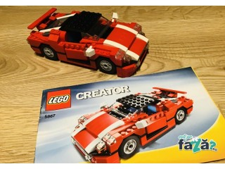LEGO Creator 3 in 1 Super Speedster, 5867,piese complete 100%,7-12 ani